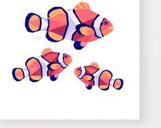 Toucan print Geometric print Art print Unique by tinykiwiPrints
