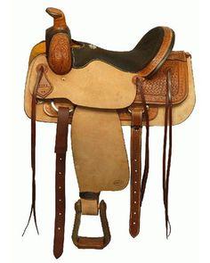 Blue River Roping Saddle - #9612416