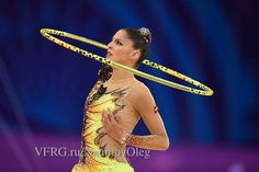 Carolina Rodriguez (Spain) got 17.616 points for HOOP in all-around finals at Olympic Games 2016