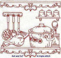 OregonPatchWorks.com - Sets - Vintage Kitchen - Exclusive