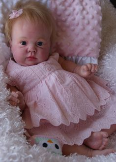 Reborn Baby CUSTOM Doll Gorgeous New Crystal Kit by SuzyDollMaker, $369.00