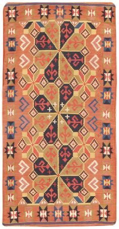 View this beautiful Vintage Swedish Kilim 46676 from Nazmiyal's fine antique rugs and decorative carpet collection in new York City.