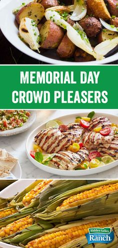 There are hundreds more recipes where these crowd-pleasers come from. Summer Recipes, Holiday Recipes, Dinner Recipes, Holiday Meals, Grilling Recipes, Cooking Recipes, Healthy Recipes, Bruschetta, Memorial Day Foods