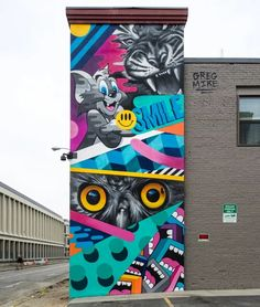 A Greg Mike Wall Mural  shared by Günter Tauchner (moderator) via Street Art of the World on Google+ ♥•♥•♥