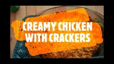 chicken dinner that the kids will love Quick Family Dinners, Easy Dinners, Quick Meals, Ritz Cracker Chicken, Children Recipes, Midweek Meals, Quick Easy Dinner, Baking With Kids, One Pan Meals