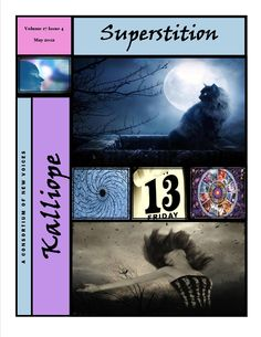The fourth 'mini' issue of Kalliope is now posted to the web site. You can find it under the tab for Spring 2012 Issues 4 - 6. Two more mini issues will be posted soon at http://kalliopemagazine.weebly.com/index.html . The May 2012 issue of Kalliope features writing by Courtney Clithero, Courtney Dalley, Dario Romero, and Megan Kiwor. It features the editorial contributions of Shavawn M. Berry, Courtney Clithero, Denise Parker, and Ofure Ikharebha.