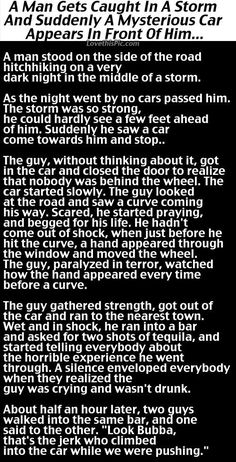 Man Gets Caught In A Terrible Storm But Never Expected This To Happen... funny jokes story lol funny quote funny quotes funny sayings joke hilarious humor stories funny jokes