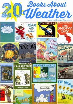 Books for children about the weather - sun, rain, storms, wind, and snow!  Recommendations for all ages, and brief reviews of each.
