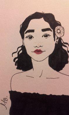 Tashi Rodriguez Sketch