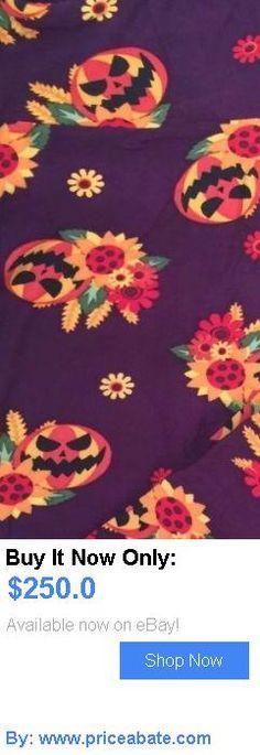 Women Leggings: Lularoe Sunflower Pumpkin Leggings Os BUY IT NOW ONLY: $250.0 #priceabateWomenLeggings OR #priceabate