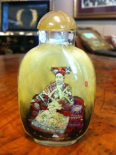 Chinese 19th Century Inside Painted Snuff Bottle Signed