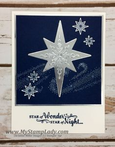 Shimmery Stars by cmstamps - Cards and Paper Crafts at Splitcoaststampers