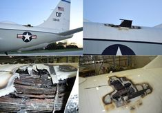 Quick thinking saved a USAF and its 27 crew members after fire erupted during takeoff roll – The Aviationist Boeing 707, Quick Thinking, Air Force Bases, Military Aircraft, Fighter Jets, Aviation, Things To Come, Fire, Destruction