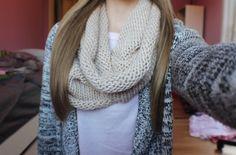 lady crochet scarf✿