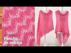 Chal Esperanza tejido a crochet - Especial por el Día internacional contra el cáncer de mama - YouTube