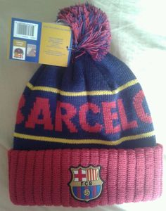 287759f834db69 FC Barcelona Football Club Barca Red Blue Soccer Beanie Cap Hat One Size  NEW #FCBarcelona #FCBarcelona---SOLD!