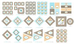 DIY Printable Construction Boy Baby Shower by VeryPrettyParties, $15.00