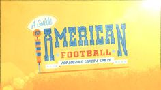 A Guide To American Football on Vimeo