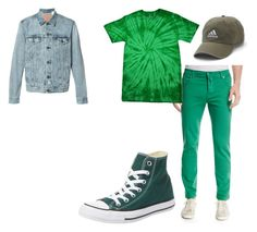 """""""Peter Pan"""" by tlanphia ❤ liked on Polyvore featuring Kiton, Converse, Levi's, adidas, men's fashion and menswear"""