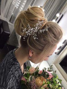 wedding updo hairstyles via antonina roman - Deer Pearl Flowers…
