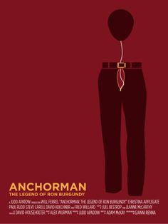 Anchorman: The Legend of Ron Burgundyby Gianni Renna
