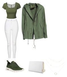 """outfit relajado"" by camila-antonia-pavez-fernandez on Polyvore featuring Topshop, LE3NO, NIKE, Trussardi and Mr & Mrs Italy"