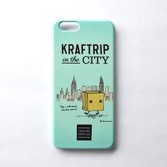 KRAFTRIP IN THE CITY iPhone case  -Blue