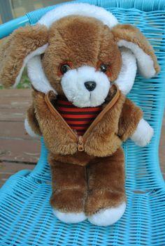 Vintage Avon Puppy Dog Stuffed Plush With by IttyBittyClassics