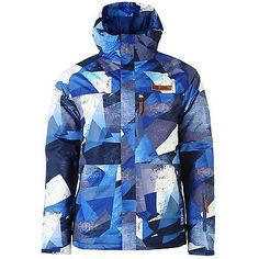 No fear park ski #jacket mens blue skiwear #skiing #snowboarding coat,  View more on the LINK: http://www.zeppy.io/product/gb/2/201461901069/
