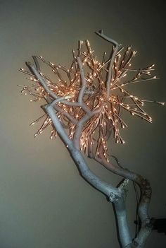 White tree by NaturaLiciousShop on Etsy