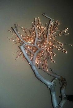 White tree by NaturaLiciousShop on Etsy