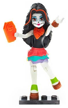 Mega Bloks Monster High Персонажи-монстры Скелита Калаверас