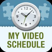 My Video Schedule App - $7.99 ITunes....  My Video Schedule is a teacher created individualized customizable app that combines video modeling within a structured schedule while providing positive reinforcement for individuals of all ages with special needs/autism..
