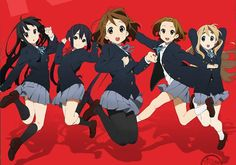 """A Review of """"K-ON!"""" There's No Better Combination then Music and ..."""