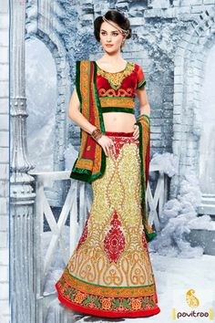 Tremendous fashion Indian beautiful beige red velvet net wedding ghagra choli with price in foreign counties like, UK, US, UAE, Singapore, Malesiya, Australia etc. with worldwide shipping service at pavitraa.in. #lehengacholi, #navaratrigarbacholi, #chaniyacholi, #ghaghracholi,   #weddingbridalcholi, #discountoffer, #festivalcholi,  #designerlehengacholi,   #netlehengacholi More : Any Query: Call Us:+91-7698234040  E-mail: info@pavitraa.in
