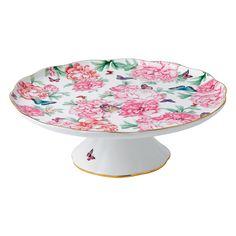 Miranda Kerr for Royal Albert Gratitude Cake Plate large