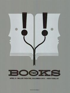 The Books #music #poster