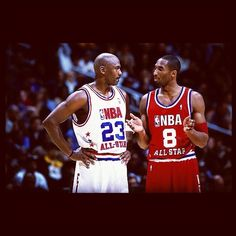 Jordan x Kobe - one of my favorite pics of all time!! Basketball Legends a453a64327