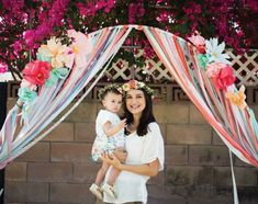 spring-party-DIY-paper-flower-archway