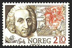 Norway Stamp - Hans Egede