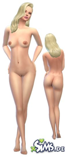 """Beautiful new female nude skin """"Shaven - Natural"""" @ http://sims2xsims.de/forum/viewtopic.php?f=20&t=2654  Tags: #xSIMS.de #TheSims4 #Sims4 :: #Nude #Skin #NudeSkin #Mod #Download"""