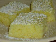 Two ingredient lemon squares