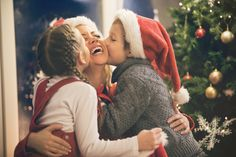 Embrace holiday hugs ~ they're good for you! Hugging releases the health-benefiting hormone oxytocin, that improves mood and relieves stress. Here's to a Christmas and Hanukkah filled with plenty of hugs!