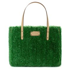 "The ""grass bag"" ! querky and fun for summer  kate spade 