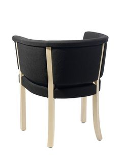 Easy chair, frame in natural birch or beech, stain or lacquer.   Covered in fabric or leather.    © Gärsnäs