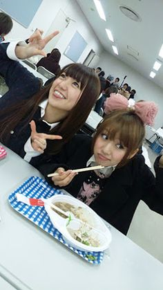 Yuko and Takamina #akb48
