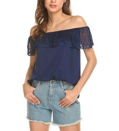 463891fcac229 Pastry Pasttry Shoulder Strapless Blouses Women Button Down Shirt,  Strapless Tops, Loose Shorts,