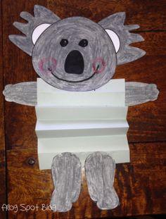 Fold and Create Koala FREEBIE