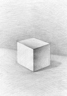 Куб, рисунок