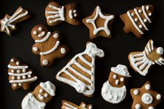 Gingerbread cookies are the best for your tea and coffee!